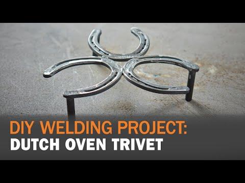 DIY Welding Project:  Dutch Oven Trivet Holder