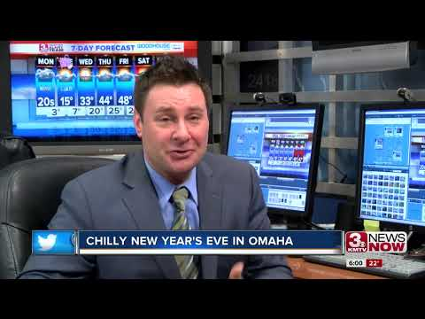 Very chilly New Years Eve expected in Omaha