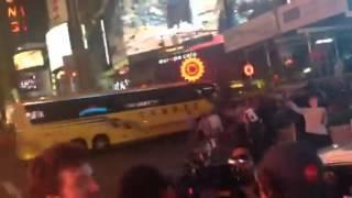 Lenny Kravitz in NYC making Music video