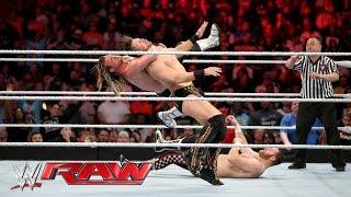 Dolph Ziggler, Sami Zayn & Sin Cara vs. Kevin Owens, The Miz & Stardust: Raw, March 28, 2016