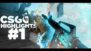 CSGO MM HIGHLIGHTS #1 (Flicks, Aces, Clutches) /w Mods