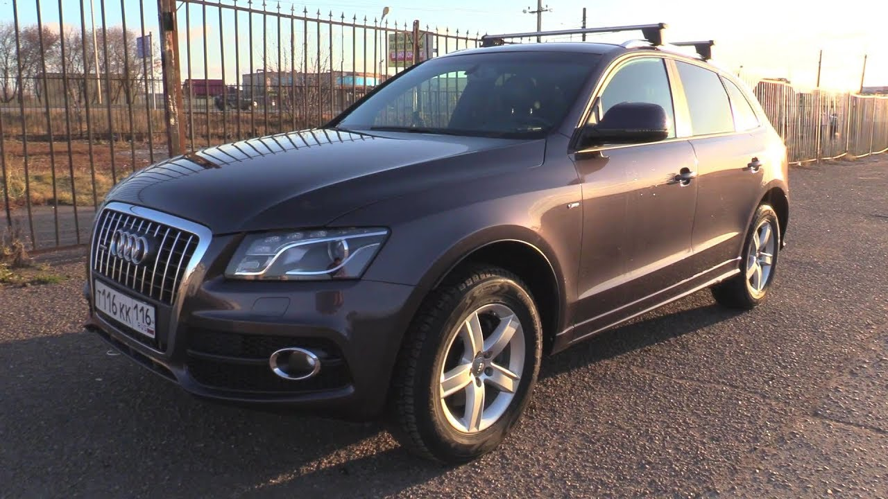 2011 Audi Q5. Start Up, Engine, and In Depth Tour.