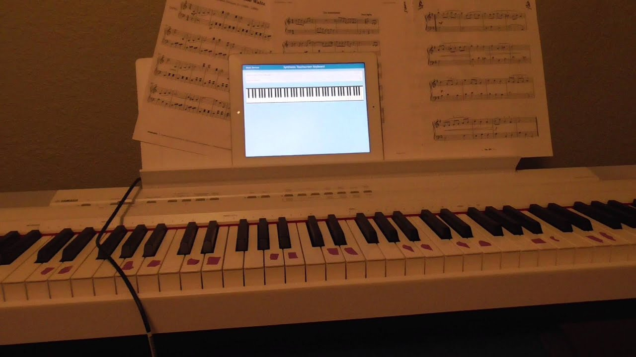 Synthesia iPad to Yamaha P-105 Connection Issue - The attached accessory  uses too much power