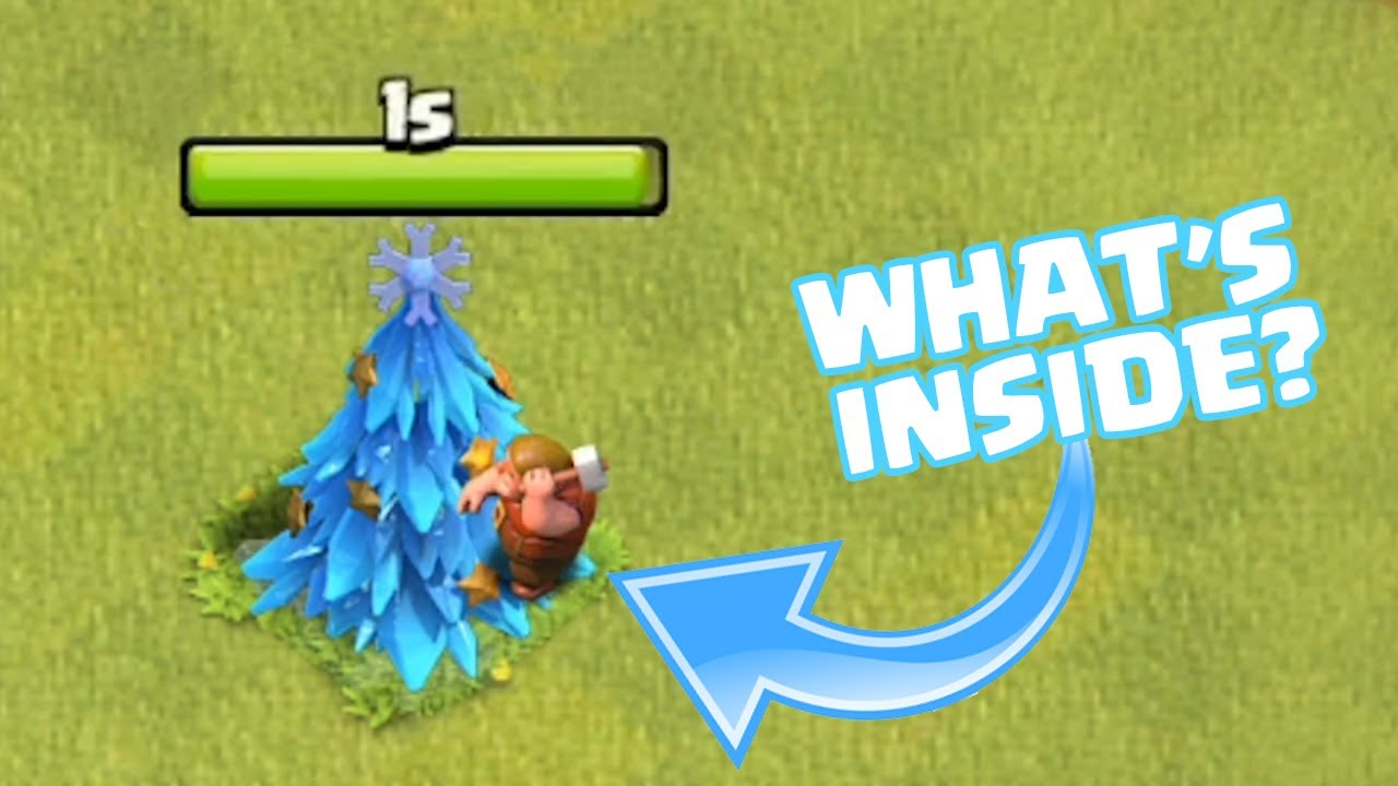 2020 Christmas Tree Clash Of Clans WHAT HAPPENS WHEN U REMOVE CHRISTMAS TREE IN CLASH OF CLANS | COC