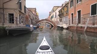 KAYAKING IN VENICE, ITALY - HD - MAY 2017 - PART 1 of 2
