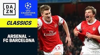 Als Arsenal 2011 mit Arshavin & Bendtner gegen Barca gewann | UEFA Champions League | DAZN Classics