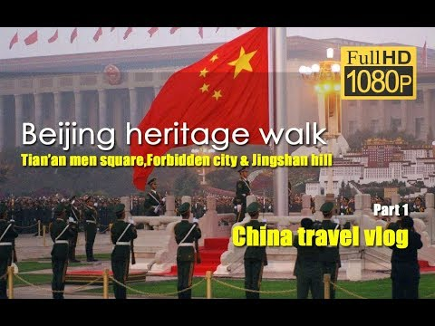 Beijing heritage walk-part 1-Tian'an men square | Beijing travel | China travel vlog