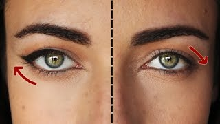 How To: The Perfect Eyeliner For Downturned Eyes | MakeupAndartFreak