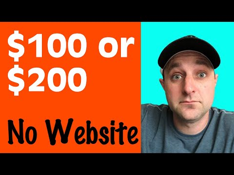 How To Make $100 to $200 Per Day Online (No Website) 👍