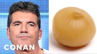 Sharon Osbourne: Simon Cowell Looks Like A Pickled Onion  - Conan On Tbs