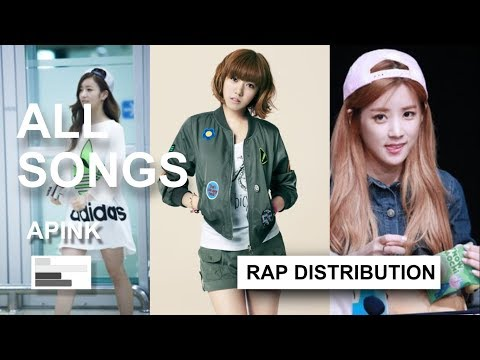 [Rap Distribution] APINK - All Songs