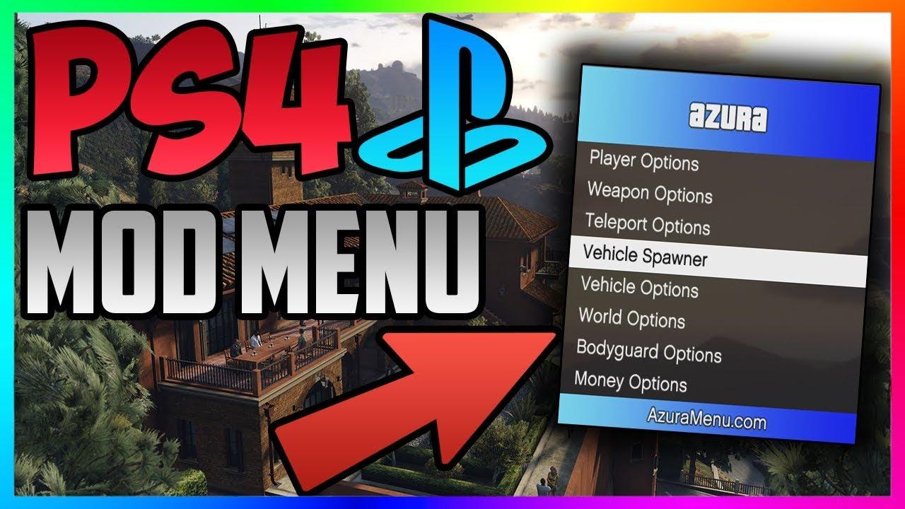 GTA 5 Online: PS4 MOD MENU 1 41 + DOWNLOAD!! PS4 Mod Menu SHOWCASE (GTA 5  Mods)