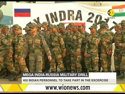 Mega India-Russia military drill; 400 Indian personnel to take part