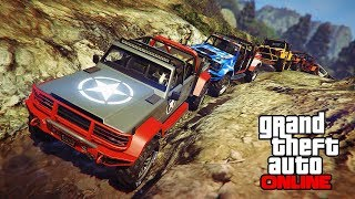 CANIS KAMACHO OFFROAD TRIP! || GTA 5 Online || PC (Funny Moments)