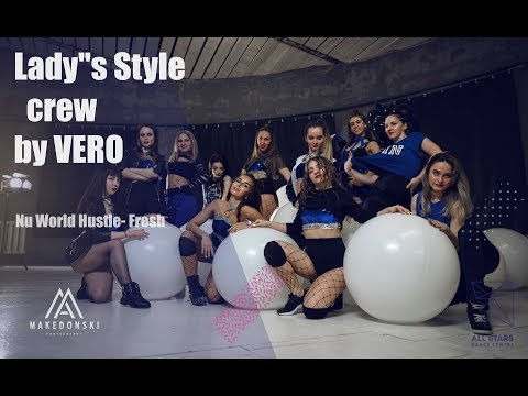 Nu World Hustle Fresh Ladys style crew  VERO All Stars Dance Centre 2018