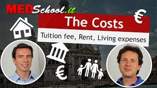 How much does it cost? - English Med Schools in Italy with Erik Campano and Alex O.