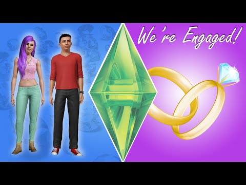WE'RE ENGAGED - Sims 3 Ever After Ep. 14