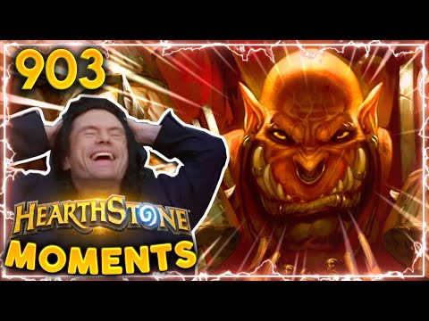 THE LUCKIEST WARRIOR IN RECENT MEMORY | Hearthstone Daily Moments Ep.903