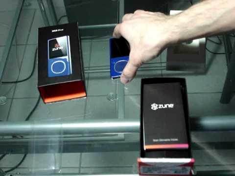 Unboxing Déballage Zune 8 Gb