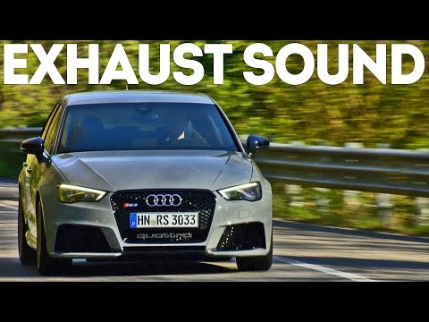 2015 AUDI RS 3 - Accelerations (good exhaust sound)