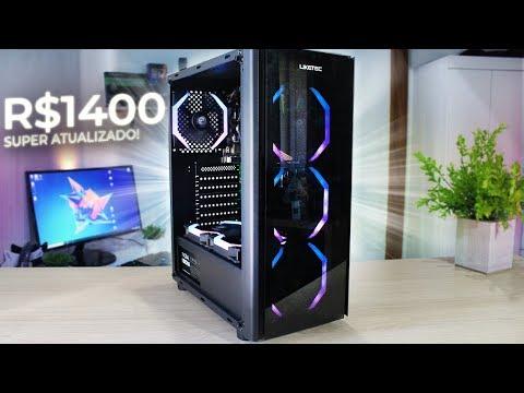 PC Monstrão de R$ 1.400,00 com Gabinete Streamer!