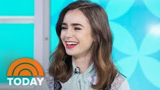 Lily Collins Talks About New Films 'Okja', 'To The Bone' | TODAY