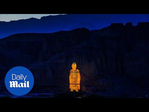 Rebirth Of The Buddha Of Bamiyan With Lighting Technology - Daily Mail