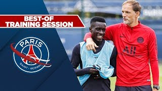 TRAINING SESSION : RENNES vs PARIS SAINT-GERMAIN