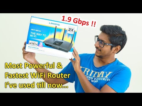 Fastest WiFi Router I've used till now... upto 1.9 Gbps Speeds !!