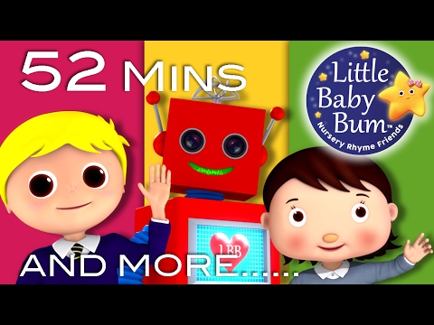 Hello Song | Plus Lots More Nursery Rhymes | 52 Minutes Compilation from LittleBabyBum!