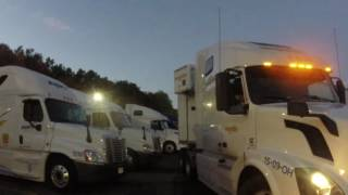 Crashes in the pilot truck stop #237-16