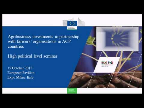 Agribusiness investment in partnership with farmers' organizations in ACP countries