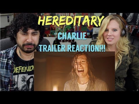 HEREDITARY  2018  'Charlie'  REACTION!!!