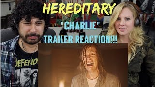 HEREDITARY TRAILER (2018) - 'Charlie' - REACTION!!!