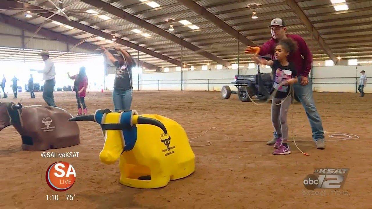 Learning the Ropes at Rodeo Camp | SA LIVE | KSAT 12