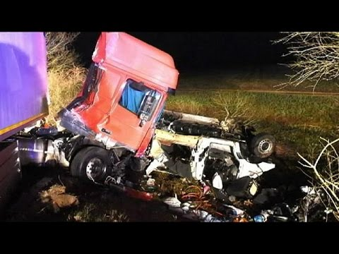 Tragedy road accident