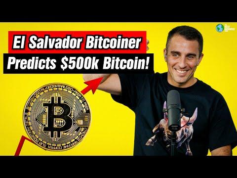 Bitcoin Beach Founder Says 500k BTC By 2030.