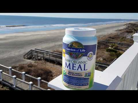 Raw Organic Protein Shake Mix - Garden of Life Raw Meal Review