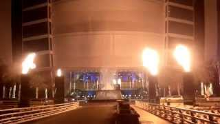 Burj Al Arab Hotel Water & Fire 25th sep2015