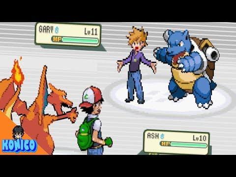 Ash Vs Gary REVERSED Pokemon Battle (Parody)