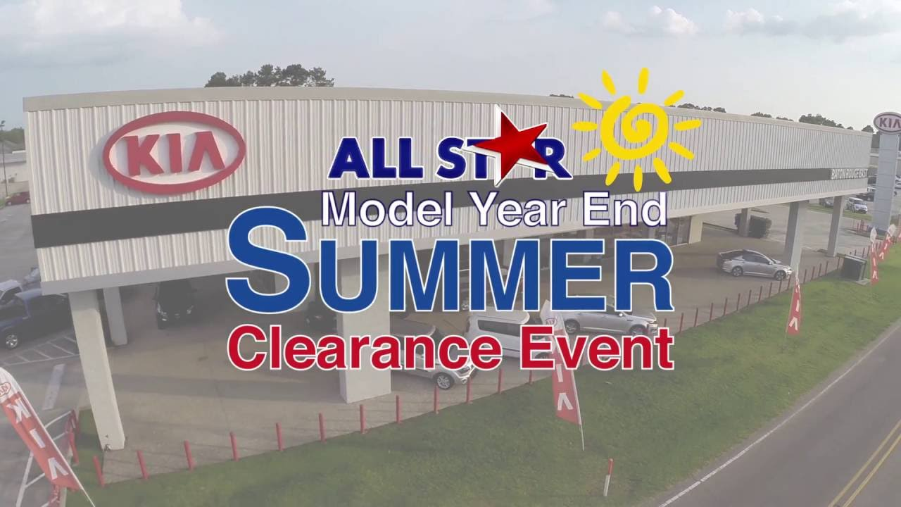 All Star Kia Of Baton Rouge   August 2016 Commercial   Model Year End  Summer Clearance Event