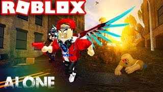 Roblox Survive | Find A Way To Survive After The Zombie Sketch | [Winter Update!] ALONE | Vamy Tran