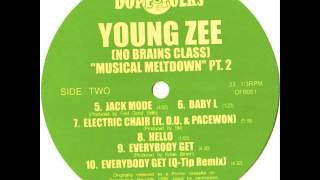 "YOUNG ZEE (NO BRAINS CLASS) ""EVERYBODY GET"" Q-TIP REMIX"