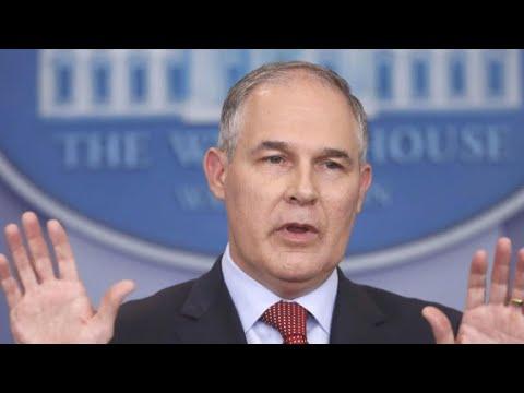 Ethical cloud over EPA chief Scott Pruitt gets darker