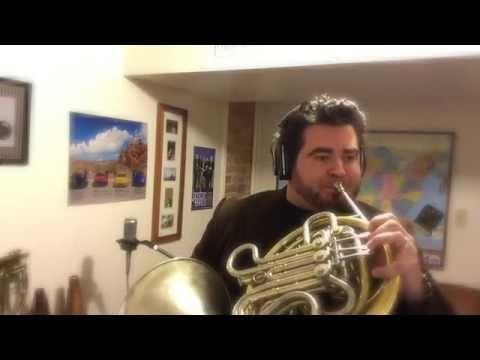 O HOLY NIGHT French Horn   Chris Castellanos