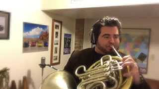 Josh Groban - O HOLY NIGHT (French Horn Cover)