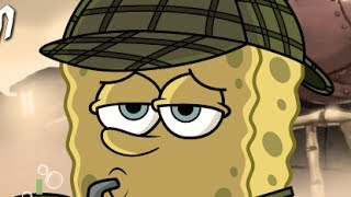 [HQ] SpongeBob SquarePants - Mystery Train | Full Games 2014