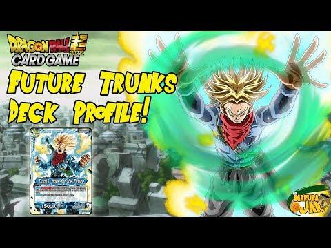 Dragon Ball Super Future Trunks Deck Profile!