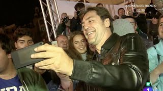 Selfie con JAVIER BARDEM