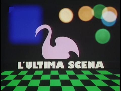 DALLA SERIE RAI TV 1979    L'ULTIMA SCENA